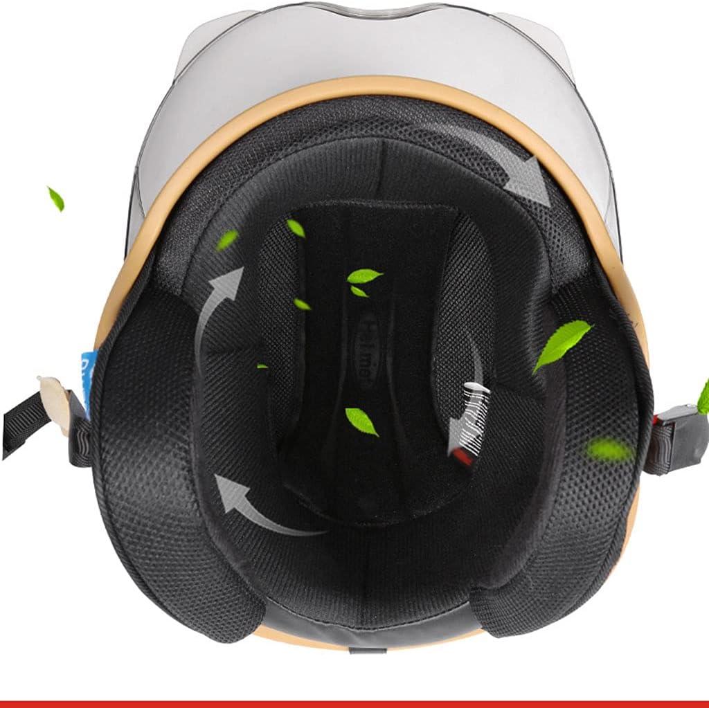 Sale item TCTCXQG Retro Style Motorcycle Helmet Jet Max 50% OFF Certified M DOT