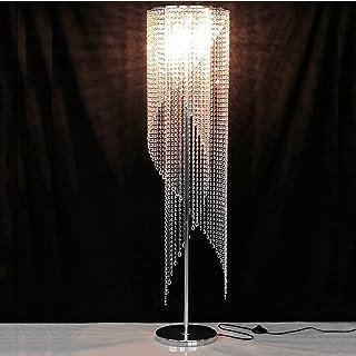 Carl Artbay European Living Room Modern Luxury Led Bedroom Personality K9 Crystal Floor Lamp