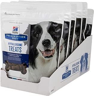 Hill's Prescription Diet Hypoallergenic Canine Treats - 6 Pack 12oz. Bags (6 Bags per Order!)