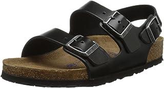 768c45573 Birkenstock Milano Unisex Soft Footbed Leather Sandal