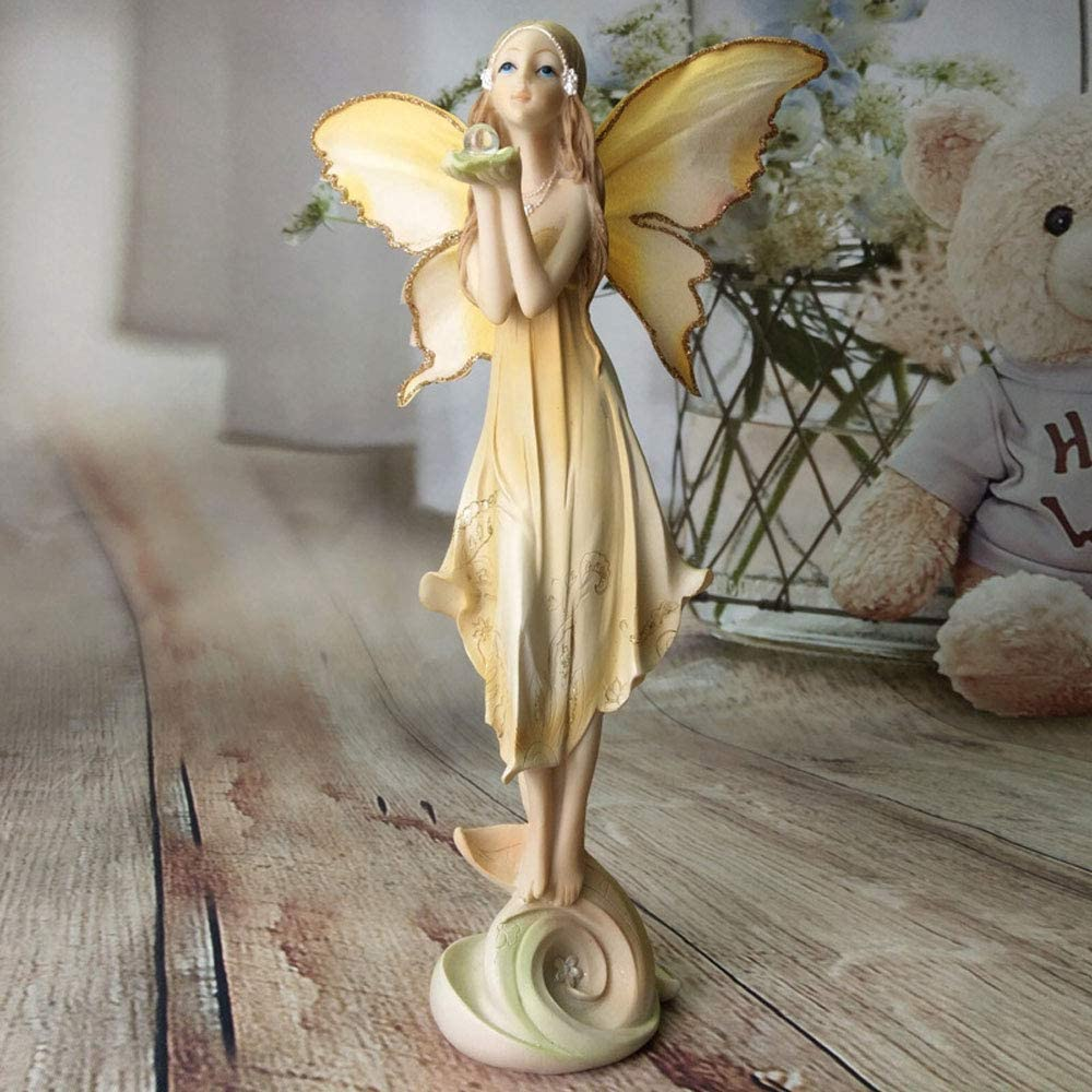 Sungmor 10.6 Inch OFFicial shop European Style Fairy Flower Figu Angel Sale special price Praying