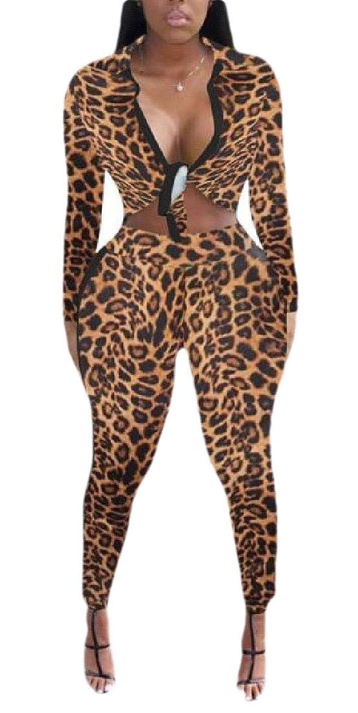 架空のプロトタイプ矢印女性2ピースジャンプスーツ長袖クロップトップボディコンパンツセット衣装