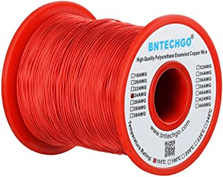 BNTECHGO 24 AWG Magnet Wire - Enameled Copper Wire - Enameled Magnet Winding Wire - 1.0 lb - 0.0197