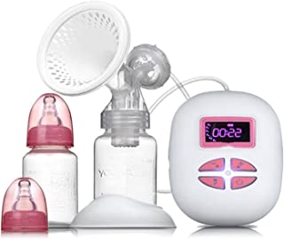 Breast Pump Electric Breast Pump, Automatic Massage, Milking, Post-pregnancy, Unilateral LCD Display, Electric Breast Pump...