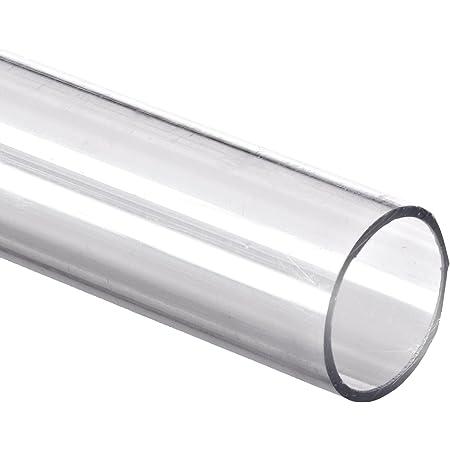 "Small Parts - TPC-125/16-24 -TPC-125/16 Polycarbonate Tubing, 3/4"" ID x 1"" OD x 1/8"" Wall, Clear Color 24"" L"