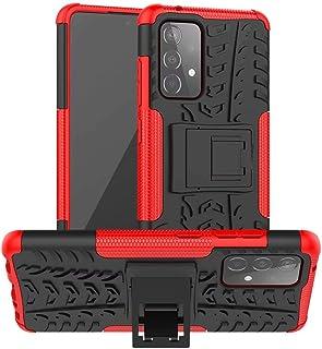 جراب RanTuo لهاتف OnePlus Nord N10 5G، قابل للفصل من مادة TPU + PC 2 في 1 جراب مقاوم للصدمات مختلط شديد التحمل، قوس غير مر...