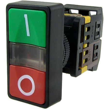 Sodial R Ac 220v Gelbes Licht Ein Aus Start Stop Taster Drucktaster 1 No 1 Nc Baumarkt