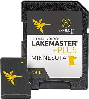 Humminbird Lakemaster Plus Minnesota Edition Digital GPS Lake and Aerial Maps, Micro SD Card, Version 3