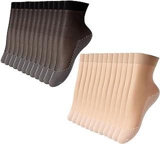 ECOMBOS, Calcetines de mujer coloridos – 4/5/6 pares de divertidos calcetines de algodón para mujer calcetines informales coloridos estampados vestido regalo con animales divertidos