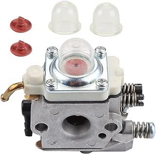 Harbot WT-227-1 Carburetor with Primer Bulb Check Valve for Stihl FS74 FS75 String Trimmer WT-227 WT227