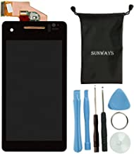 Sunways LCD Display Touch Digitizer Screen for Sony Xperia V Lt25i with Device Opening Tools