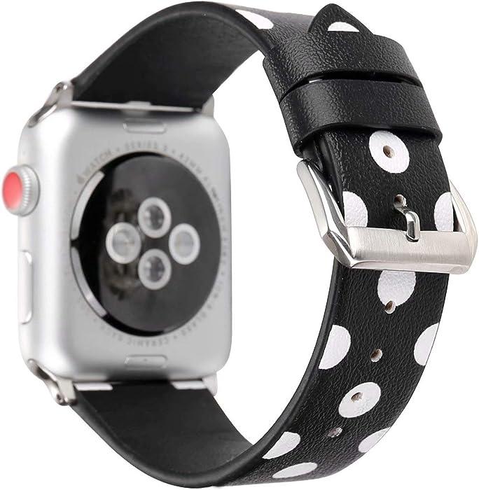 The Best Black Polka Dot Apple Watch Band 42Mm