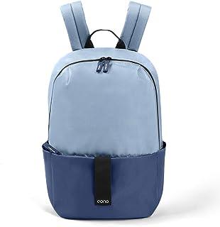 Essentials - Mochila Unisex Ultraligera Resistente al Agua, Ideal para el Colegio, Senderismo, Acampada y Viajes (20 L) (Azul Niebla)