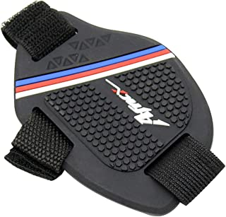 Moniclern Motocicleta Gear Shift Pad Shoe Cover Protetor de bota antiderrapante Protetor de câmbio de engrenagem