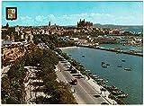 Postal grande Mallorca. Palma. Vista desde el Paseo Marítimo Nº G-7