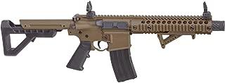 Crosman DPMS SBR Full Auto CO2 Air Rifle, 177 Caliber BB Flat Dark Earth Synthetic Stock(DSBRFDE), Caliber: .177