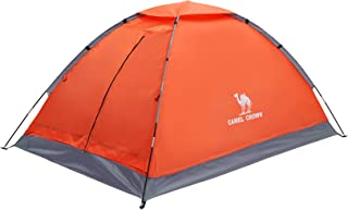 CAMEL CROWN 2/3/4/5 Person Camping Dome Tent, Waterproof,Spacious, Lightweight Portable Backpacking Tent for Outdoor Camping/Hiking