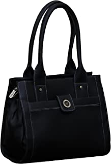 Fostelo Women's Ocean Side Handbag (Black) (FSB-361)