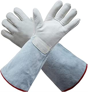 Size : XL Occupational Health & Safety Products Gloves AINIYF Electric welding gloves Insulation anti-scalding gloves Industrial gloves High temperature resistant gloves Thickened barbecue gloves Protective gloves/Soft leather