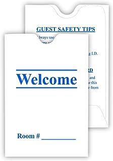 Hotel & Motel Keycard Envelope/Sleeve