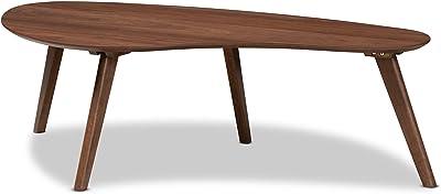 Baxton Studio Coffee Tables, One Size, Walnut