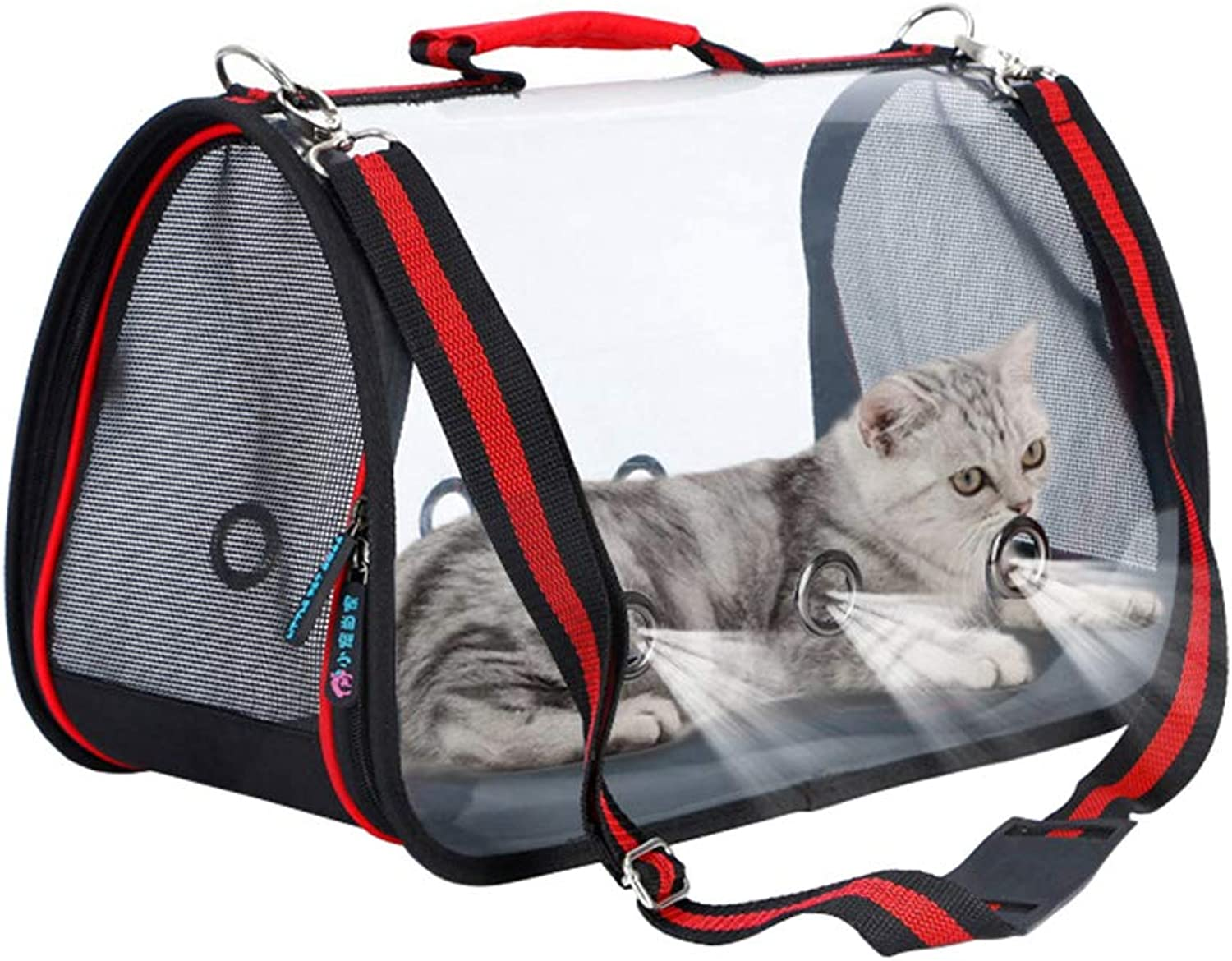 Fashion Pet Backpack, for Small and Medium Pets, One Shoulder Bag, Three Sizes,M