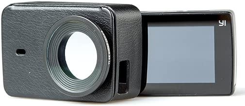 YI Lite/4K/4K+ Universal Compatible Action Camera Protective Lens + Leather Case Black