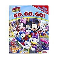 Disney - Mickey and the Roadster Racers - Go, Go, Go! First Look and Find - PI Kids (First Look & Find)