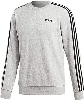 adidas Men's Essentials 3-stripes Fleece Crew Sweatshirt