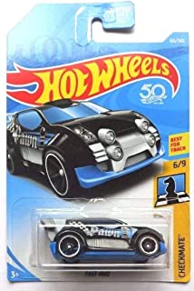 Hot Wheels 2018 50th Anniversary Checkmate Fast 4WD (Pawn) 166/365, Black