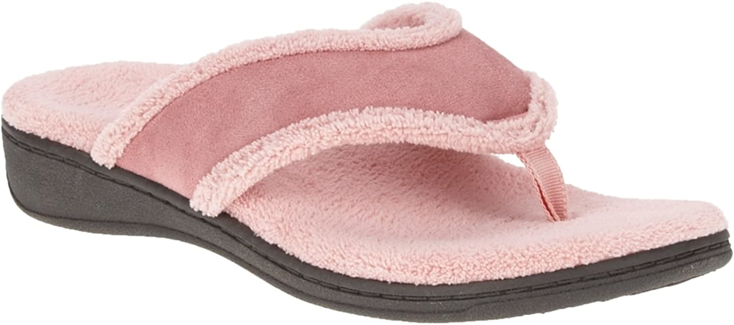 Vionic Bliss - Womens Orthotic Slipper Sandals pink - 11