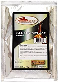 GLUCOAMYLASE ENZYME SINGLE DOSE PACK 10g PACKET DRY BETA AMYLASE ENZYME