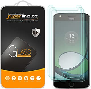 Supershieldz (3 Pack) for Motorola Moto Z Play and Moto Z Play Droid Tempered Glass Screen Protector, Anti Scratch, Bubble Free