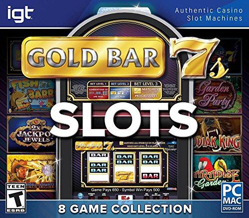 Encore Games IGT Slots Gold Bar 7's 8-Pack
