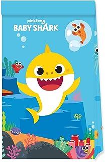 Procos Baby Shark 4 Paper Party Favor Bags