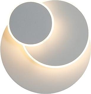 Applique 15W LED, Créatif eclipse 3 en 1 Protection Solide Applique Murale Interieur Lampe Moderne Simple Salon Allée Balc...