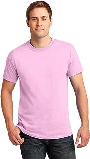 Gildan Mens Ultra Cotton 100% Cotton T-Shirt, 2XL, Light Pink