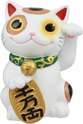 Neko Lucky Maneki Charm Cat Japanese Washi Paper Accent Figure Doll Home Decor