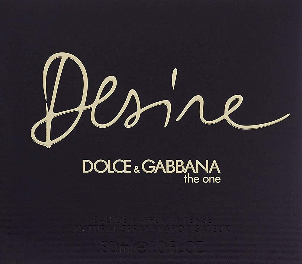 Dolce and gabbana the one desire eau de perfume spray 30ml 746480041880