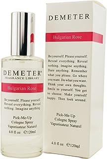 Demeter Women Cologne Spray, Bulgarian Rose, 4 Ounce