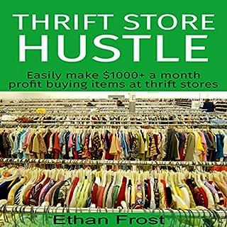 Thrift Store Hustle audiobook cover art