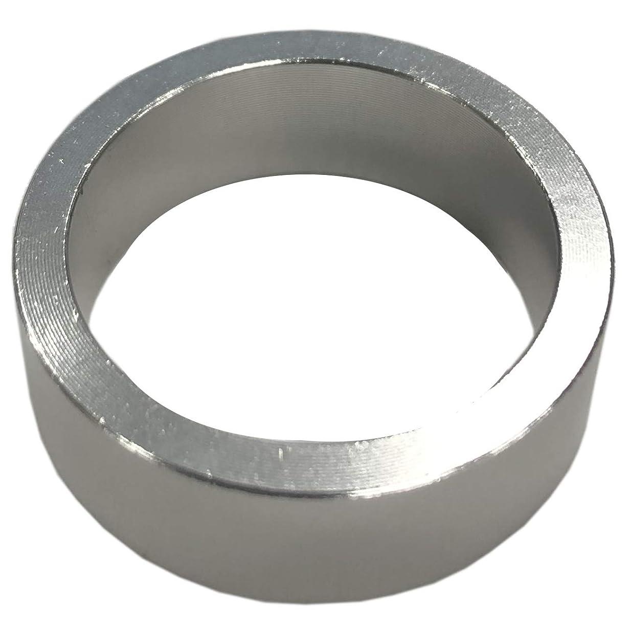 批判襟突き出すDIA COMPE(ダイア コンペ) ヘッドコラム アルミニウムスペーサー 1インチ (φ25.4) 10mm シルバー