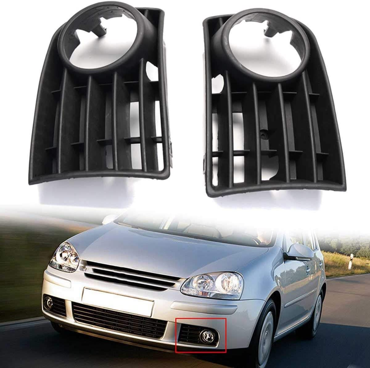 HXHN Fog Light Grille 1Pair Car Trim Don't miss the campaign Bumper Grill Front Corner F Raleigh Mall