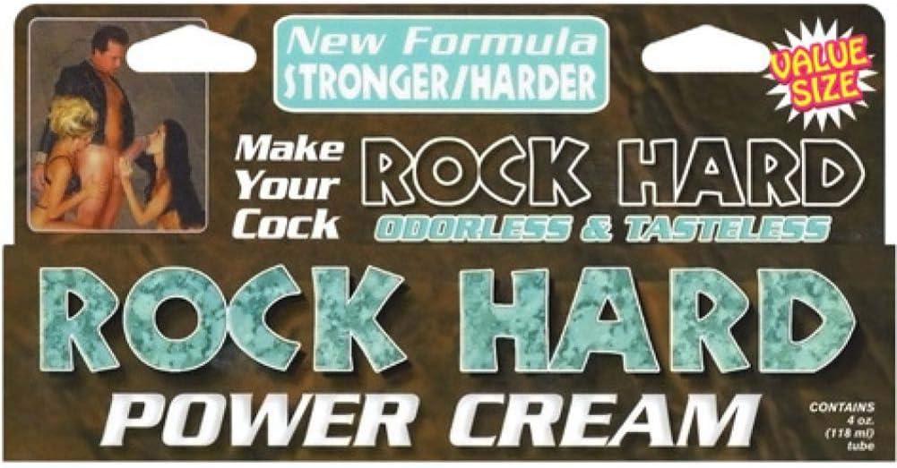 Hard penis cream rock How to