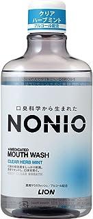 [医薬部外品]NONIO マウスウォッシュ クリアハーブミント 600ml 洗口液