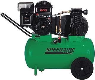 Speedaire 20 gal. 5.5 HP Barrel Portable Gas Air Compressor 4B220-1 Each