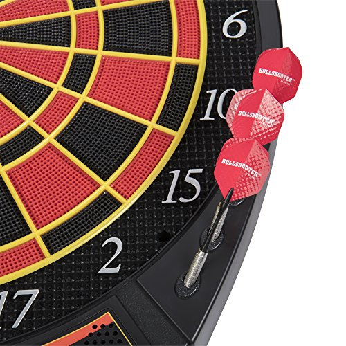 Bullshooter by Arachnid Voyager Ele   ctronic Dartboard with LCD Display and 29 Games and 90 Variations