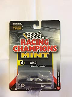 1960 Chevrolet Impala Shadow Gray Metallic Limited Edition to 3,200 Pieces Worldwide 1/64 Diecast Model Car by Racing Champions RCSP003