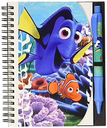 "National Design Finding Dory Deluxe Hardcover 5"" x 7"" Autograph Notebook and Pen Set (14420-FDD-PGK)"