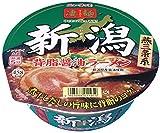 ヤマダイ ニュータッチ 凄麺 新潟背脂醤油ラーメン 124g×12個